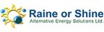 Raine Or Shine Alternative Energy Solutions Ltd.