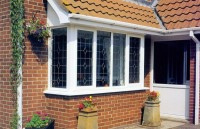 Square Bay Window with Square Leading