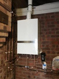 The powerful ATAG combi boiler installed with 10 years warranty