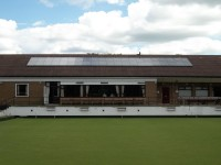 10 kWp of Romag Black Framed Solar Modules at a Bowling Club in Teesside