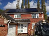 4.0 kW array, Norwich, 'Eternity' panels