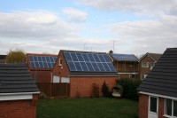 2x 2.88kWp 16 Panel Trina Solar Photovoltaic Installation, Mansfield, Notts