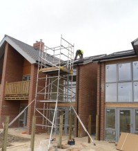 New build development using Solar PV in York