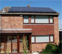 Midlands Solar - 3.76kWp Sanyo HIT235 Panels with a Kaco 4202 Inverter