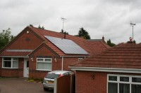 2.88kWp 16 Panel Trina Solar Photovoltaic Installation, Forest Town, Mansfield, Nottingham.