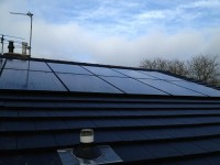 4 kWp integrated pv system