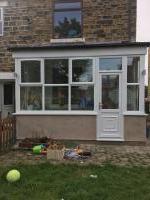 Rear porch / utility room