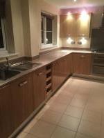 Kitchen hob sink and boiler