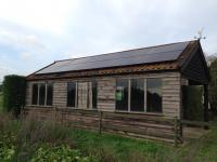 2.5 kw array on outbuilding, Near Dereham