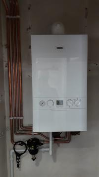 conventional boiler conversion to combi boiler