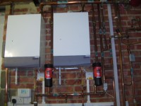 Potterton Boilers installed in Tandem by LWL Heating