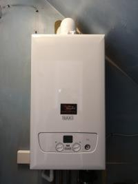 New Baxi 600 installation