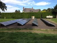Grount Mount Installation - 10kw