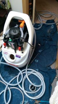 Kamco CF90 professional powerflush machine in use