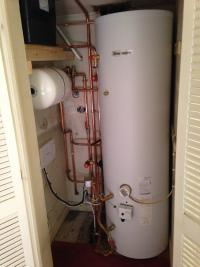 Glow Worm 300ltr Unvented Cylinder, Newly Piped Airing Cupboard etc...