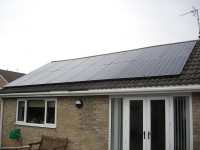 4 kWp of Hyundai Solar Modules in Teesside