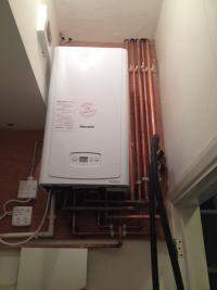 New Combi Boiler in a new renovation in Chiswick