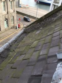 Roof repairs in Aberdeen