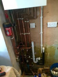 New vaillant boiler install