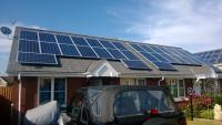 Domestic solar projects installed for a local authority