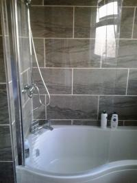 finish bathroom