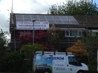 4 kWp solar system in Bury