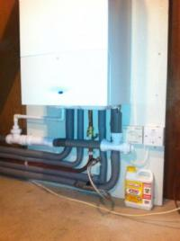 Worcester Combi Boiler Installation
