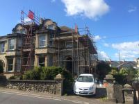 Replacement roofline works