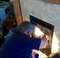 New gas fire install