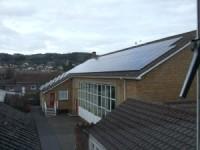 Solar PV School Building Minehead