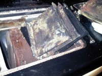 A poorly maintained oil Rayburn
