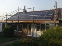16 CentroSolar 250W Panels and CentroSolar 3.6kW string inverter
