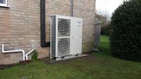 Air Source Heat Pumps & Solar PV - Cranwell, Lincoln