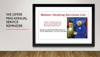 We offer a yearly service plan