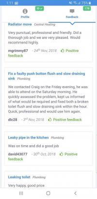 Great feedback