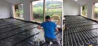 Robot Under Floor Heating System – 40m2