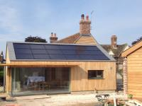 Romag In roof 3.51kWp array set into Zinc roof