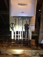 Alpha boiler installed in loft