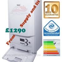Boiler Replacement from £699 supply and fit.  New boilers Up To 10 years part & labour manufacture warranties. ​