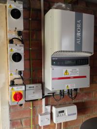 Aurora inverter and Solar Iboost immersion switch