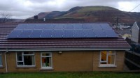 5 KW ROOF INSTALLATION IN 2 ROWS OF PORTRAIT ON A ROMAN TILE