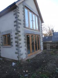 Irish Oak PVCu Windows and Doors - Lydney
