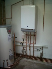 boiler and unvented cylinder