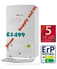 Combi boiler replacement from £699 supply and fit.  New boilers Up To 10 years part & labour manufacture warranties. ​