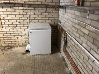 Oil boiler install.