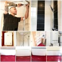 Bathroom and central heating installation