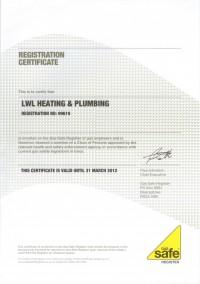 Gas Safe Registred LWL Heating