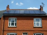 Beautiful Victorian home with a 4kWp system installed.