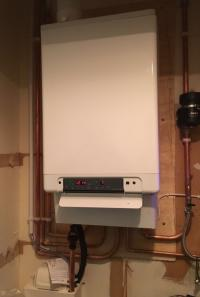 A boiler installation