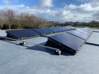 Flat roof 4kw system.